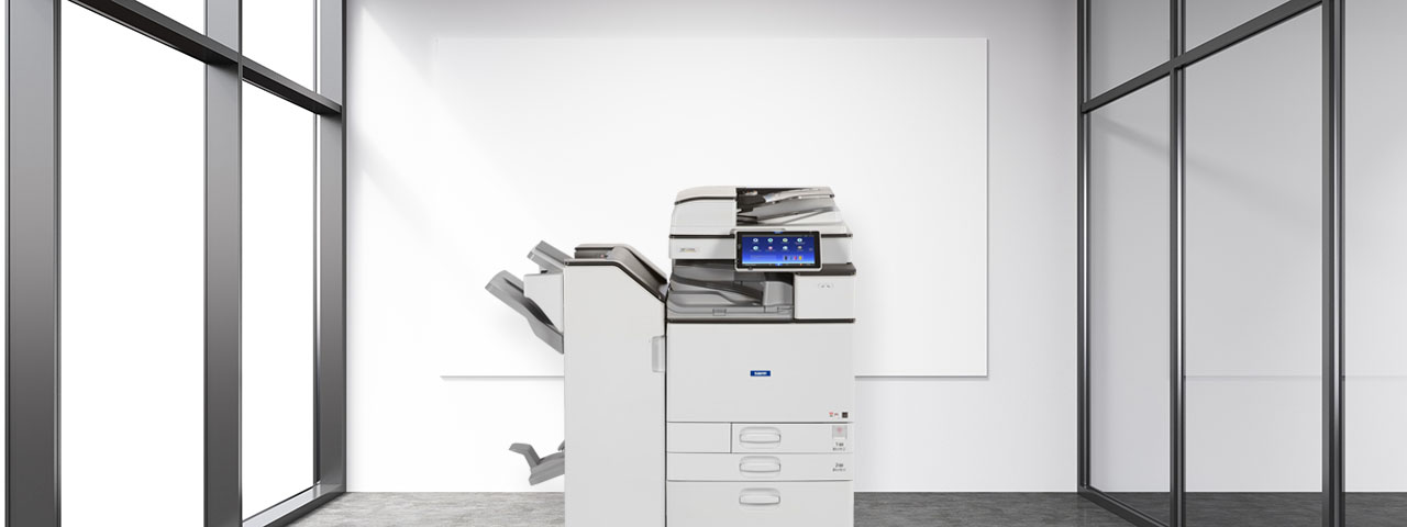 Savin Printer in a Modern Office space