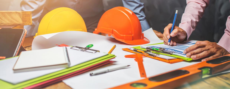 construction office paperwork