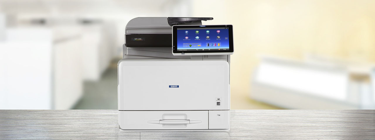 Printer in Modern Office Space