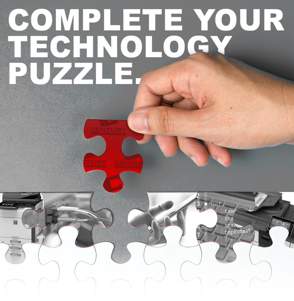 Complete your technology puzzle with solutions from Century Business Technologies